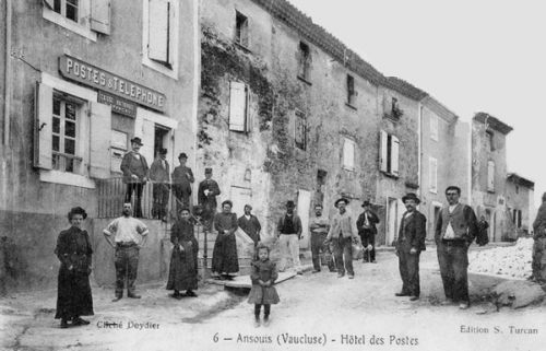 Hôtel des Postes à Ansouis