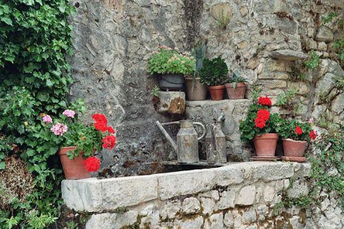 Lavoir fontaine à Brantes
