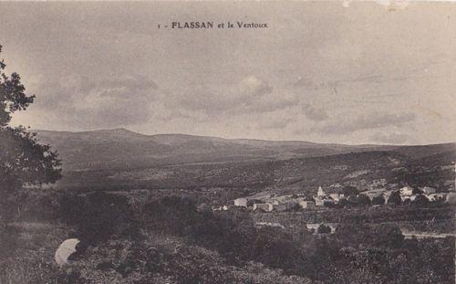 Flassan et le Ventoux