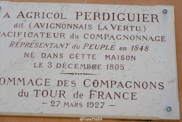 Morières lès Avignon. Agricol Perdiguier