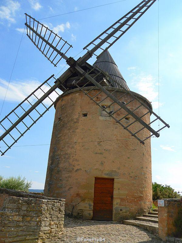 Moulin de Jérusalemn à Goult.