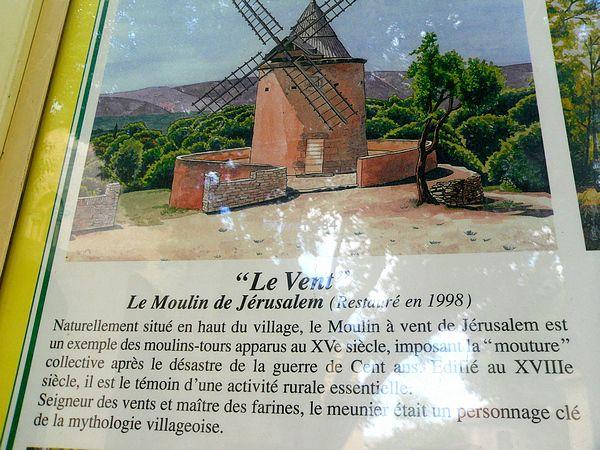 Moulin de Jérusalem à Goult