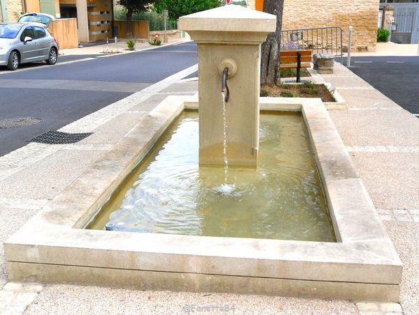Fontaine à Goult