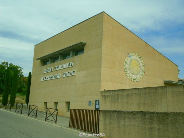 Ecole Jean-Henri Fabre à Saumane