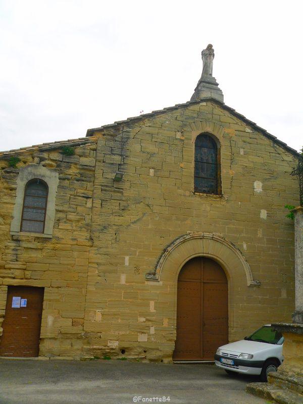 l'église de Saumane