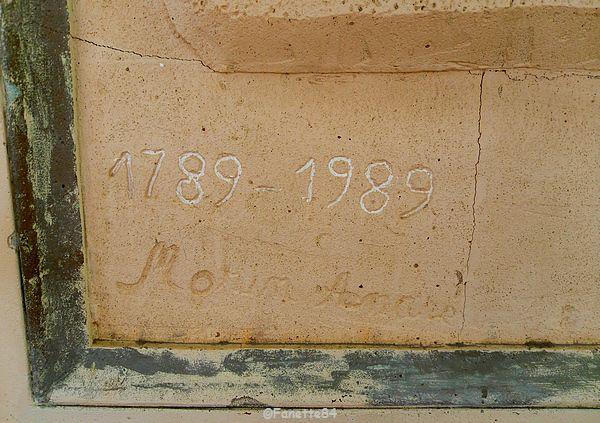 Date de la fresque à Lagnes