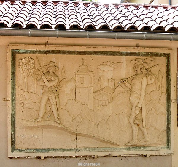 Fresque à Lagnes