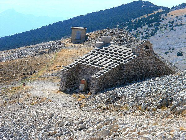 Chapelle haut du Mont-Ventoux 2015