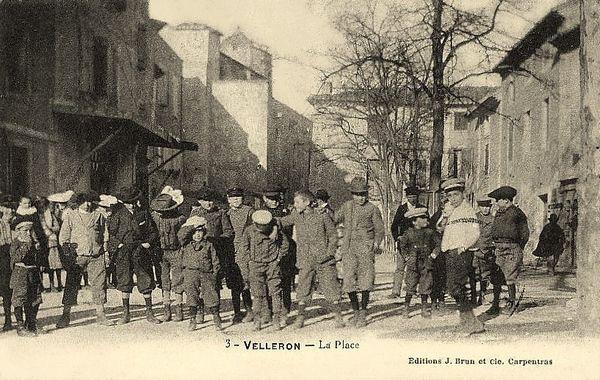 Velleron. La Place