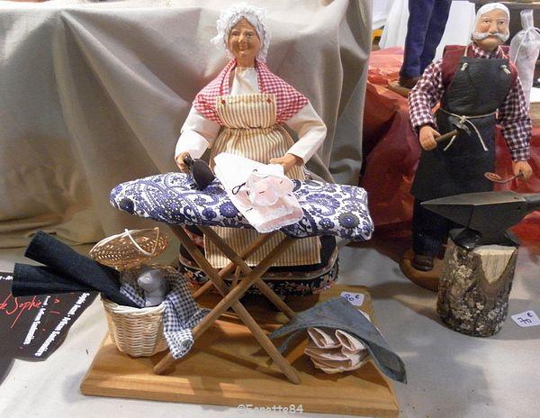 Salon du santon à Orange (décembre 2015)
