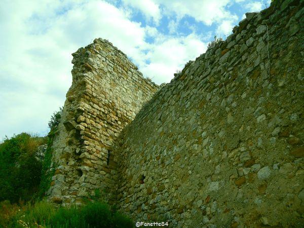Ruines du château de Gigondas