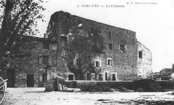 Chateau Papal à Sorgues