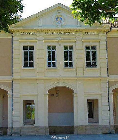Ecole Marie Mauron à Sarrians