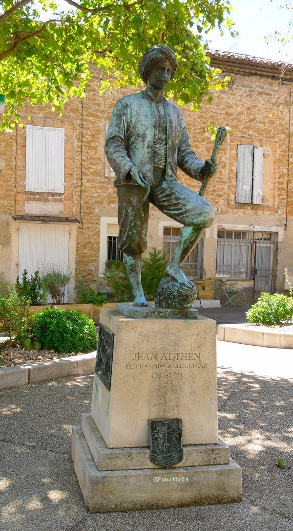 Statue Jean Althen