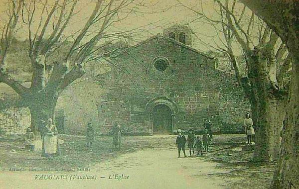 L'église de Vaugines