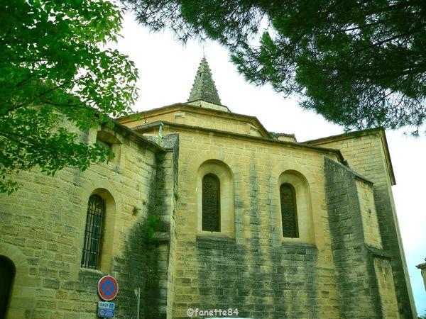 Église Saint Nazaire Saint Celse à Mazan