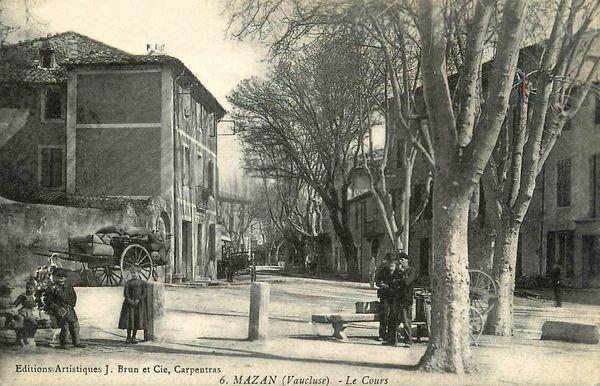 Le Cours à Mazan