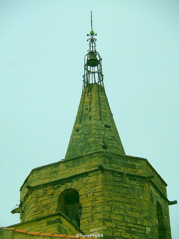 Clocher de Notre Dame de Calvias à Malemort Du Comtat