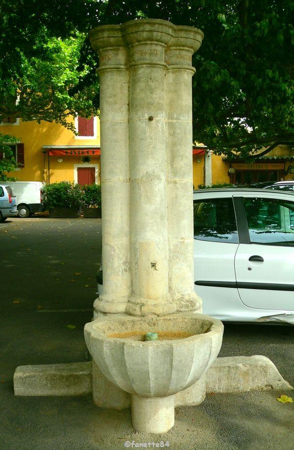 Fontaine de la Bonnefont à Malemort Du Comtat