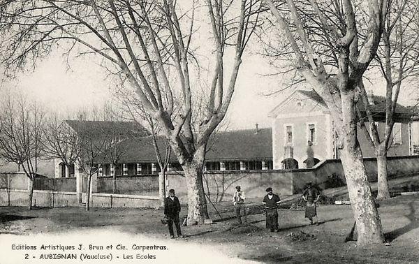 Les écoles à Aubignan