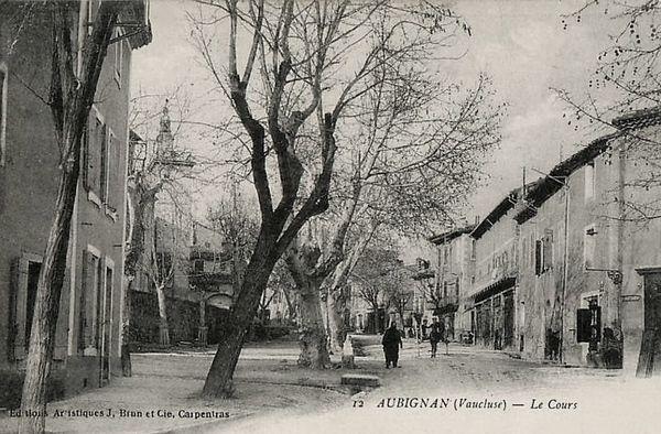 Le Cours à Aubignan
