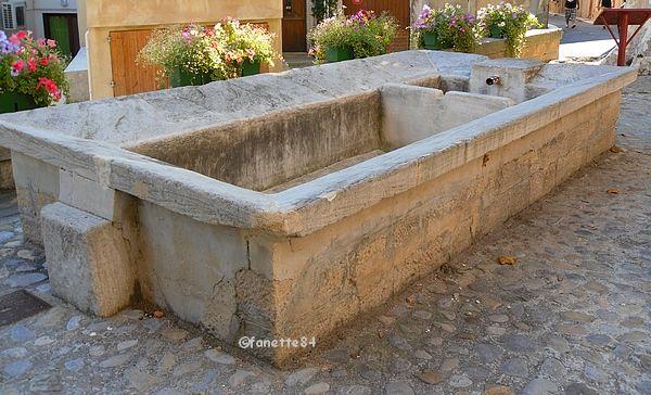 Lavoir à Bédoin
