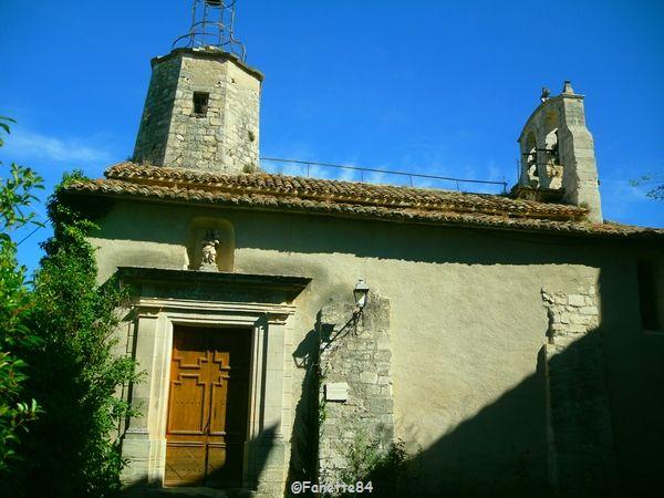 Le Beaucet, l'église de l'Assomption.