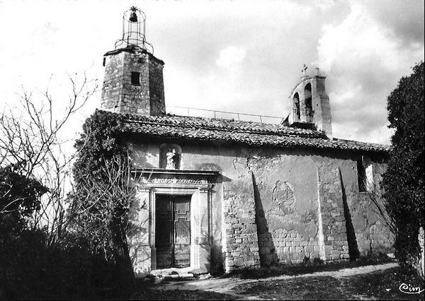 Le Beaucet, l'église de l'Assomption