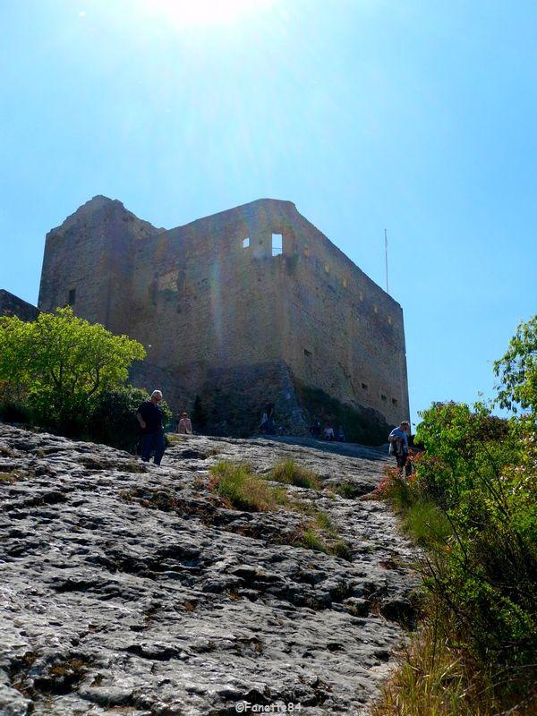 Vieux château Comtal de Vaison la romaine