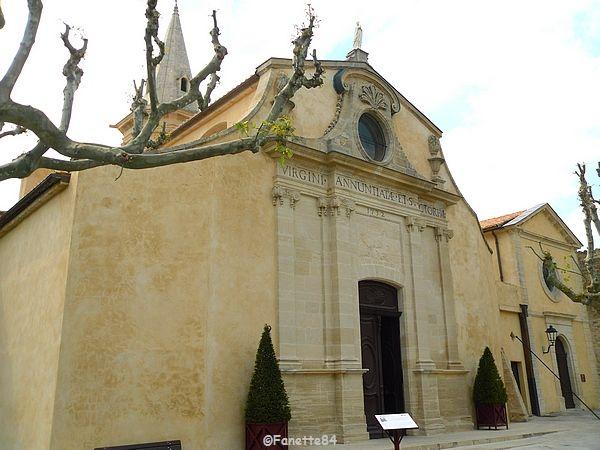 Eglisse paroissiale d'Aubignan