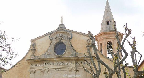 Haut de l'église d'Aubignan