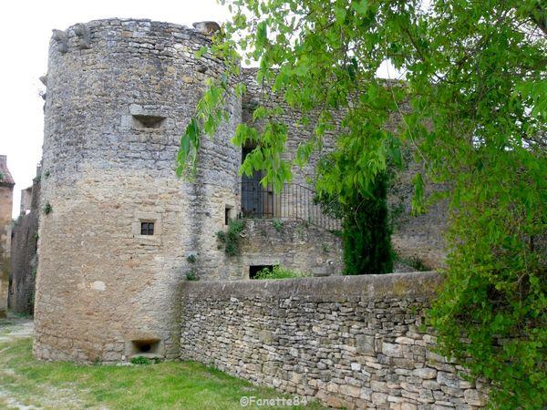 Tour du château de Cabrières d'Avignon