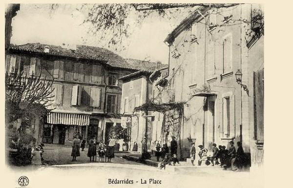 La Place à Bédarrides