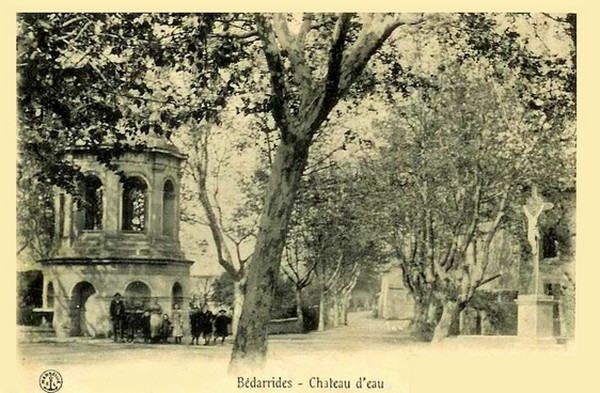 Château d'eau à Bédarrides