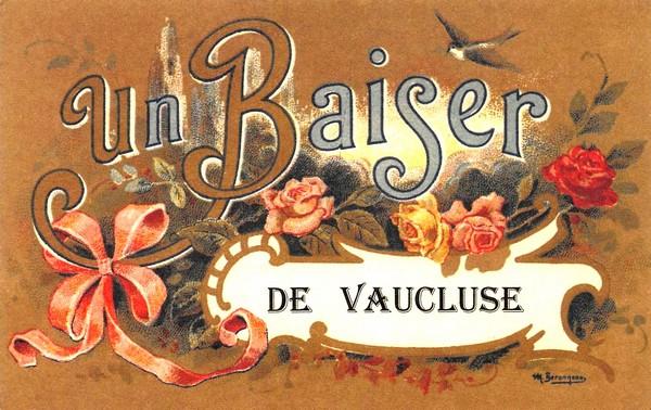 Bon baiser de Vaucluse