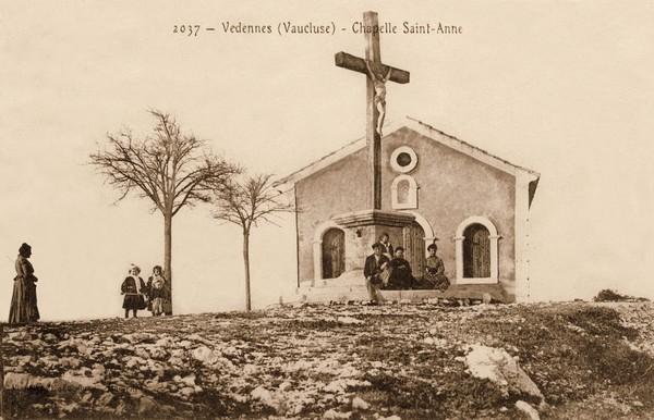 Vedéne Chapelle Saint Anne