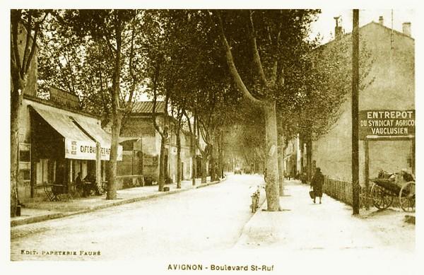 Avignon, Boulevard Saint-Ruf