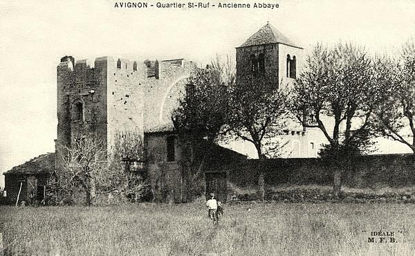 Avignon, ancienne abbaye, Saint-Ruf