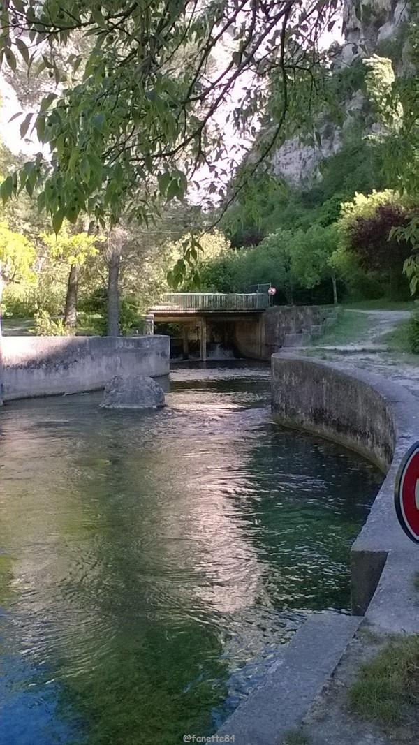 Jardin de Pétraque à Fontaine de Vaucluse