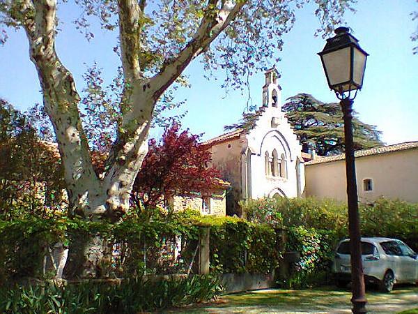 L'église de Causans à Jonquières
