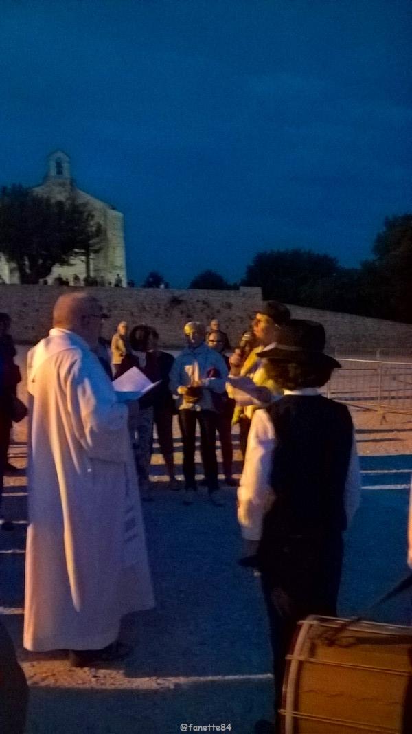 Feu de la Saint Jean à Vaison la Romaine (23 juin)