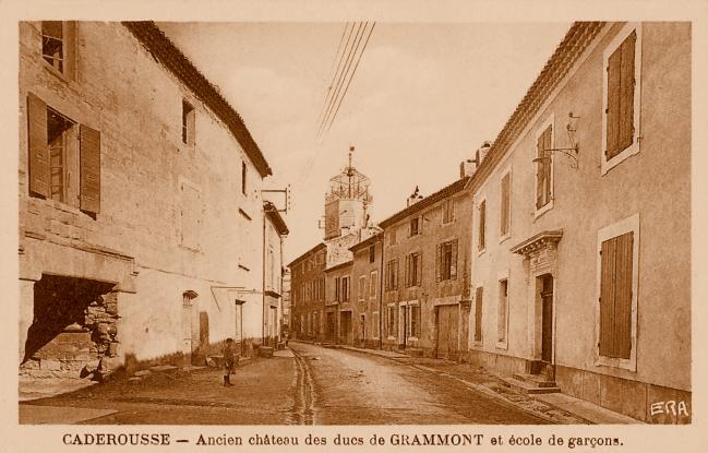 Château Grammont à Caderousse
