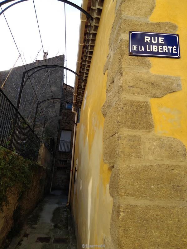 Proche de la rue de la Liberté à Bédarrides