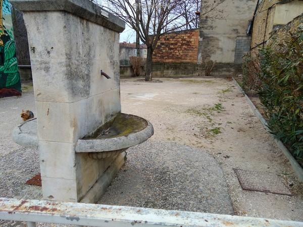 Square Bicentenaire 1789-1989 à Bédarrides