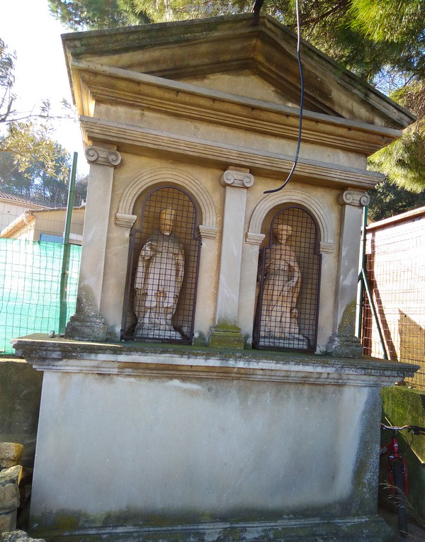 Oratoire de Saint Roch et Saint Eloi à Bédarrides