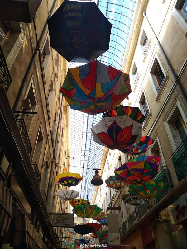 Parapluie à Carpentras