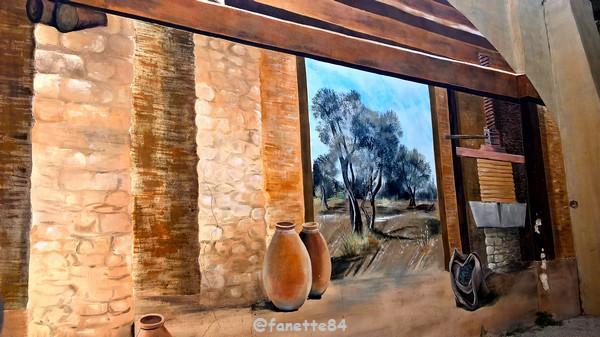 Peinture murale à Vedéne