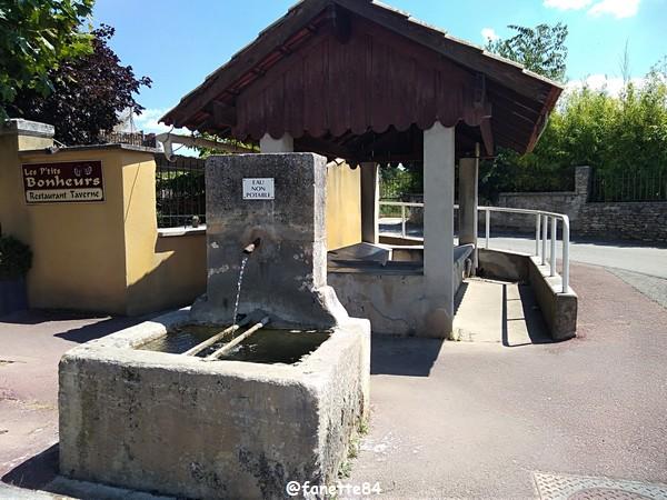 Lavoir et fontaine à Villes sur Auzon