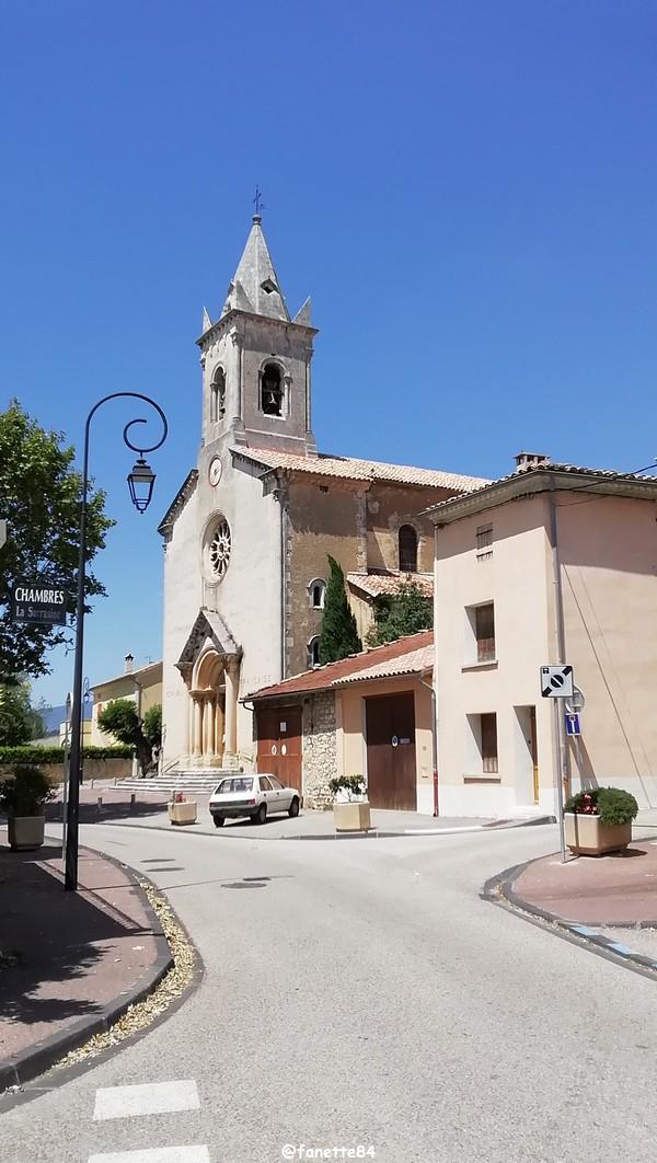 Eglise à Villes sur Auzon