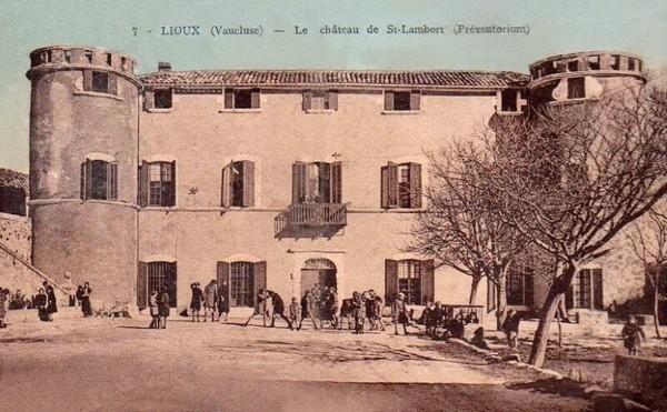 Lioux château St Lambert